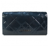 Кошелек Cossni. 11635-1 dark blue. Кожа