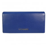 Кошелек Cossni. 12153 dark blue. Кожа