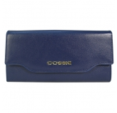 Кошелек Cossni. 48671 dark blue. Кожа