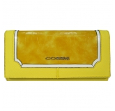 Кошелек Cossni. C15-10128 yellow. Кожа