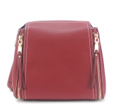 Женская сумка Borgo Antico. 33082 purplish red